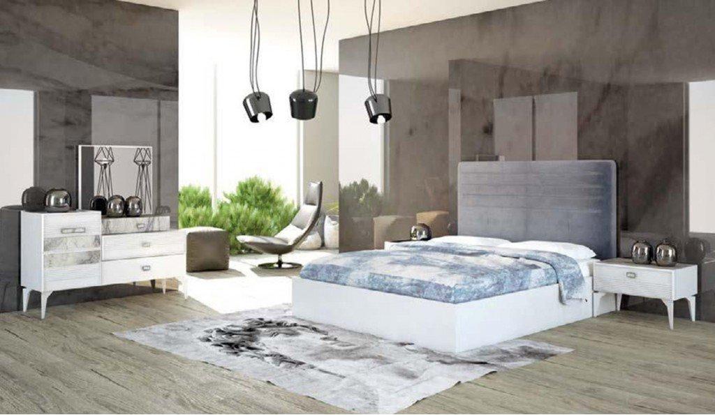 Vera Yatak Odası Takımı - Beyaz